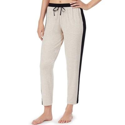 ダナキャラン レディース カジュアルパンツ ボトムス Colorblock Print Cropped Jersey Knit Sleep Pants