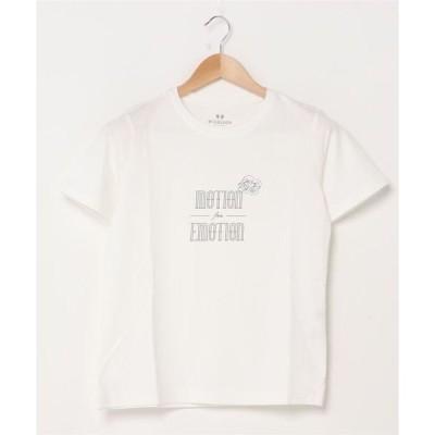 tシャツ Tシャツ カレッジモチーフTシャツ
