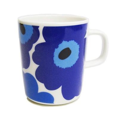 マリメッコ marimekko マグカップ 63431-017 UNIKKO MUG ブルー 250ml 【scd】【hkc】【pap】【hkc】【scd】【glw】