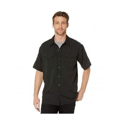 5.11 Tactical ファイブイレブンタクティカル メンズ 男性用 ファッション ボタンシャツ Freedom Flex Woven Short Sleeve Shirt - Black