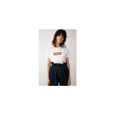 earlymoussyTシャツ 柄レッド