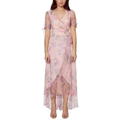 ベッツィジョンソン ワンピース トップス レディース Floral-Print Faux-Wrap Maxi Dress Pale Rose