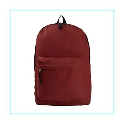 [ケイクリフ]K-Cliffs Classic Bookbag Basic Backpack Simple School Book Bag Casual Student Daily Daypack 18 Inch with [並行輸入品]