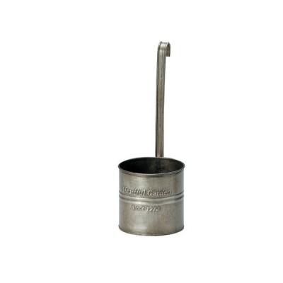 GREENHOUSE アンティーク風ブリキポット ハンギングL 2677-A ポット 鉢 アイアン ブリキポット