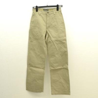 MOUNTAIN KHAKIS ◆ワークパンツ/チノパン/カーキ/W28×32 メンズファッション【メンズ/MEN/男性/ボーイズ/紳士】 【中古】