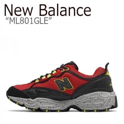 New Balance ML801GLE RED レッド ニューバランス 801