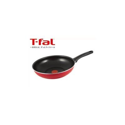 T-fal/ティファール  フェアリーローズウォックパン 28cm C50019