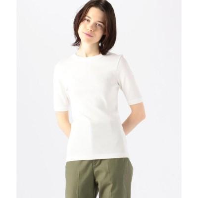 tシャツ Tシャツ シルキーフライス ハーフスリーブプルオーバー
