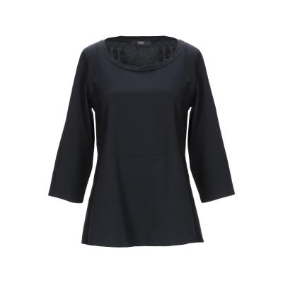 SEVENTY SERGIO TEGON T シャツ ブラック 40 コットン 100% T シャツ