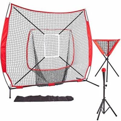 【送料無料】KMX ティーネット 野球 室内野球 ネット ティーバッティング ボール受けネット ボール収集 野球 練習用 バッティング ティー