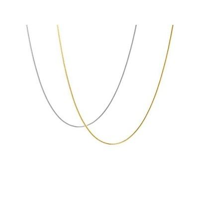 並行輸入品KISPER 2-Chain Set: Includes 24k Gold Over Sterling Silver and Sterling Sil全国送料無料!