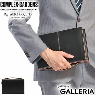 【商品レビューで+5%】青木鞄 セカンドバッグ COMPLEX GARDENS 枯淡 クラッチバッグ 本革 レザー ビジネス メンズ 3709
