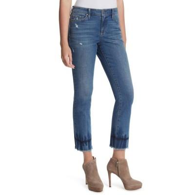 ジェシカシンプソン レディース デニムパンツ ボトムス Arrow Frayed-Hem Ankle Jeans