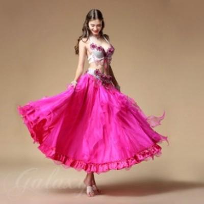 ベリーダンス インドダンス 上下セット レッスン着 豪華 舞台 演出 ステージ ダンス衣装 rywj01701b【送料無料】