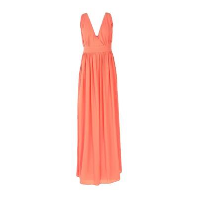 LA KORE ロングワンピース&ドレス サーモンピンク 0 ポリエステル 100% ロングワンピース&ドレス
