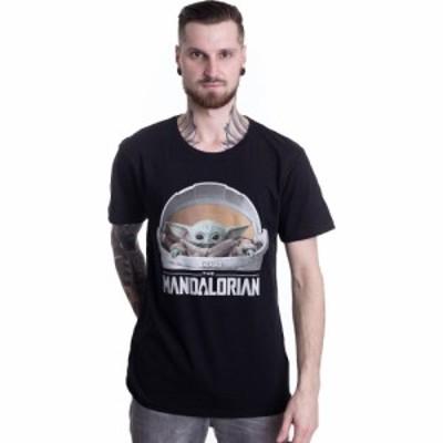 インペリコン Impericon メンズ Tシャツ トップス - Baby Yoda Logo - T-Shirt black
