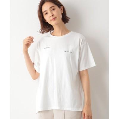tシャツ Tシャツ ロゴ*フォトプリントT 893007