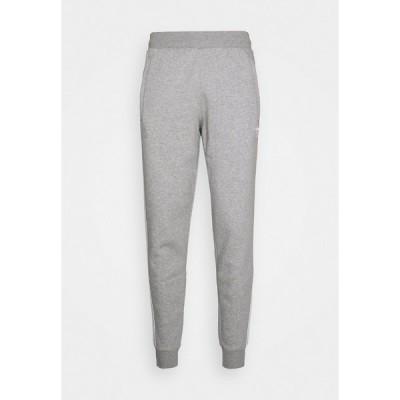 アディダスオリジナルス カジュアルパンツ メンズ ボトムス STRIPES PANT - Tracksuit bottoms - medium grey heather