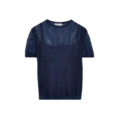 MANSUR GAVRIEL プルオーバー ブルー S ナイロン 47% / モヘヤ 37% / ウール 16% プルオーバー