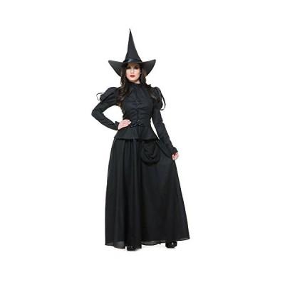 ジェスチャーゲーム レディース Wicked ウィッチ コスチューム, ブラック, Medium(海外取寄せ品)