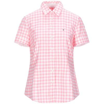 ガント GANT シャツ ピンク 40 コットン 97% / ポリウレタン 3% シャツ