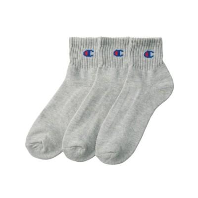 チャンピオン 底パイルアンクルソックス3足組 メンズ靴下, Men's Socks