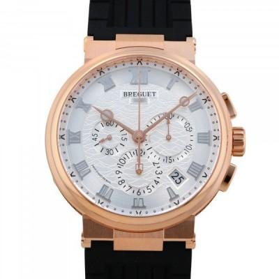 ブレゲ Breguet マリーン クロノグラフ 5527BR/12/5WV シルバー文字盤 新品 腕時計 メンズ