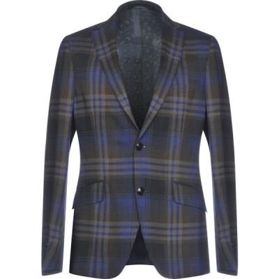 エトロ ETRO メンズ スーツ・ジャケット アウター blazer Dark blue