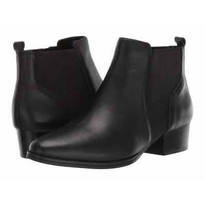 エアロソールズ ブーツ&レインブーツ シューズ レディース Criss Cross Black Leather
