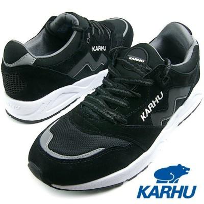 【サイズ限定特価】KARHU カルフ Aria (アリア) ブラック/ホワイト MEN スニーカー