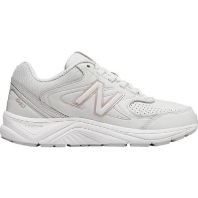 ニューバランス New Balance レディース ランニング・ウォーキング シューズ・靴 WW840v2 Walking Shoe Grey/Rose Gold Leather