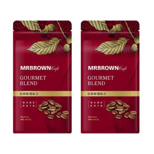 【伯朗咖啡買一送一】伯朗精選綜合咖啡豆(440g)買一組即買一送一