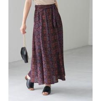 ROPE' PICNIC(ロペピクニック)アフリカンマーメイドスカート【お取り寄せ商品】