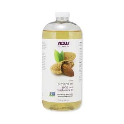 NOW Foods 100%ピュア スイートアーモンド スキンケアオイル 946ml(32floz)ナウフーズ