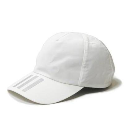 アディダス オーバーライド adidas x override 別注 スリーストライプ リフレクターロゴキャップ フリー ホワイト 帽子