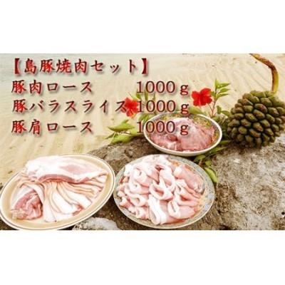 【鹿児島徳之島】 徳之島愛情たっぷり島豚焼肉セット