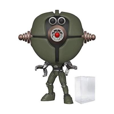 並行輸入品 Funko Pop!ゲーム Fallout - Assaultron ビニールフィギュア (ポップボックスプロテクターケース付き
