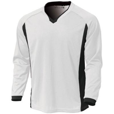 ウンドウ ベーシックロングスリーブサッカーシャツ ホワイト 120 P1930-00-120 <2020>