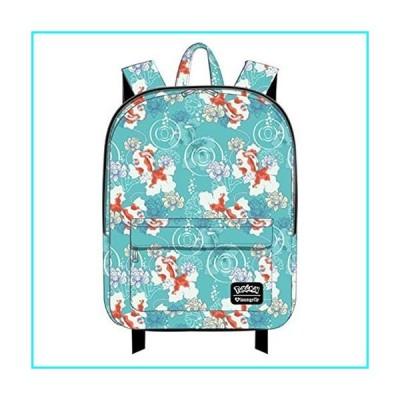 Pokemon Goldeen Lotus Flower Print Backpack