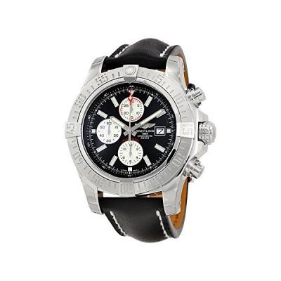 Breitling Super Avenger II Black Dial Mens Watch A1337111/BC29BKLT 並行輸入品