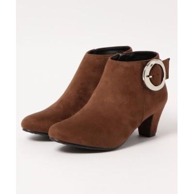 Xti Shoes / 【SG】円形バックルショートブーツ WOMEN シューズ > ブーツ