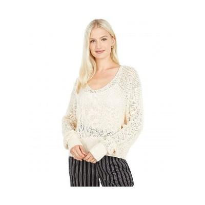 Billabong ビラボン レディース 女性用 ファッション セーター Feel The Breeze - White Cap