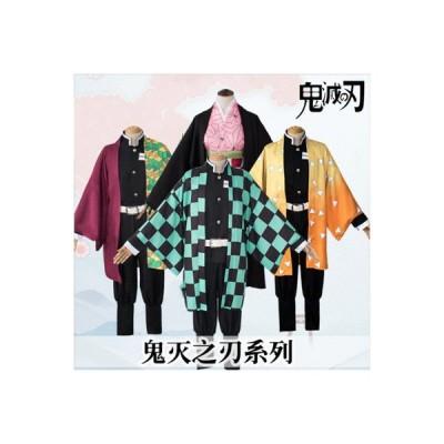 滅の刃  コスプレ衣装  男女キッズ兼用 cosplay マントキャラクター衣装 お祝い 贈り物 誕生日炭治郎  COS02