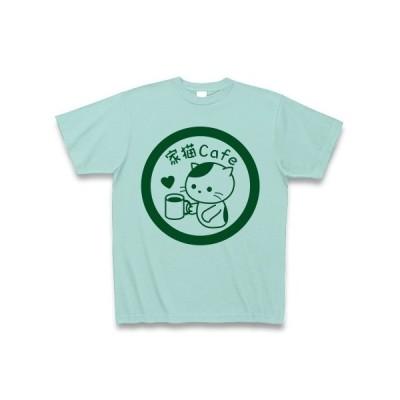 家猫Cafe Tシャツ(アクア)