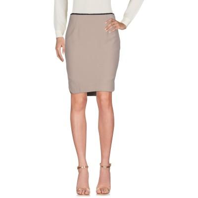 ALTEЯƎGO ひざ丈スカート ベージュ 42 レーヨン 50% / ナイロン 38% / ポリウレタン 12% ひざ丈スカート