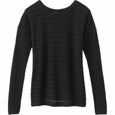 プラーナ Prana レディース ニット・セーター トップス Madeline Sweater Black Solid
