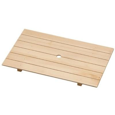 尺7寸(51cm)長角大和殿盛器 用木製目皿 ABS樹脂製