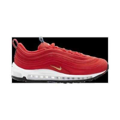 (取寄)ナイキ メンズ スニーカー エア マックス '97 シューズ Nike Men's Air Max '97 Challenge Red Metallic Gold White Black