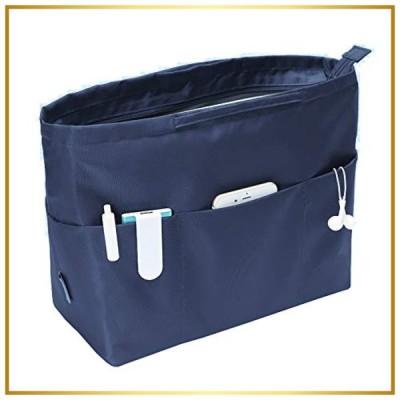 APSOONSELL 大容量 バッグインバッグ 13ポケット トートバック用 バックインバック 大きめ レディース メンズ 収納