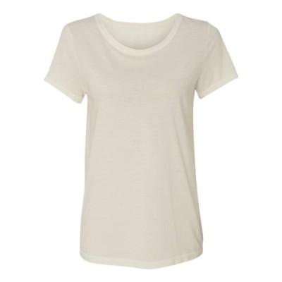 レディース 衣類 トップス Alternative - Women's Vintage Garment Dyed Distressed T-Shirt - Color - Vintage White - Size - XS Tシャツ